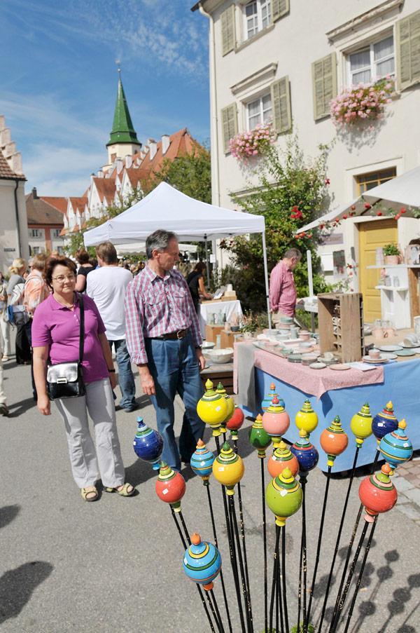 Internationale Keramikwochen- Internationaler Töpfermarkt