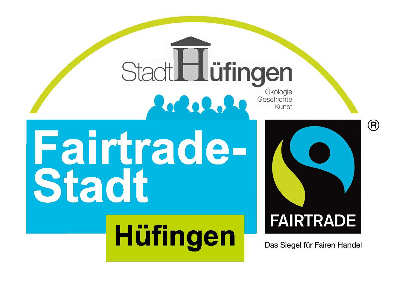 Logo Fairtrade Hüfingen