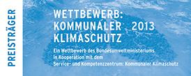Logo Kommunaler Klimaschutz 2013