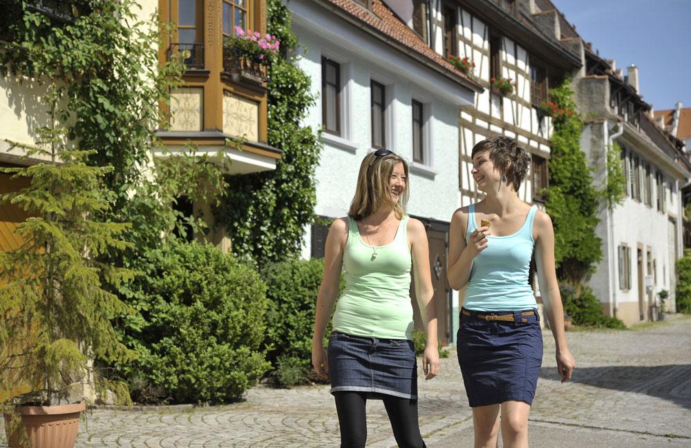 Historisch denkmalgeschützte Altstadt