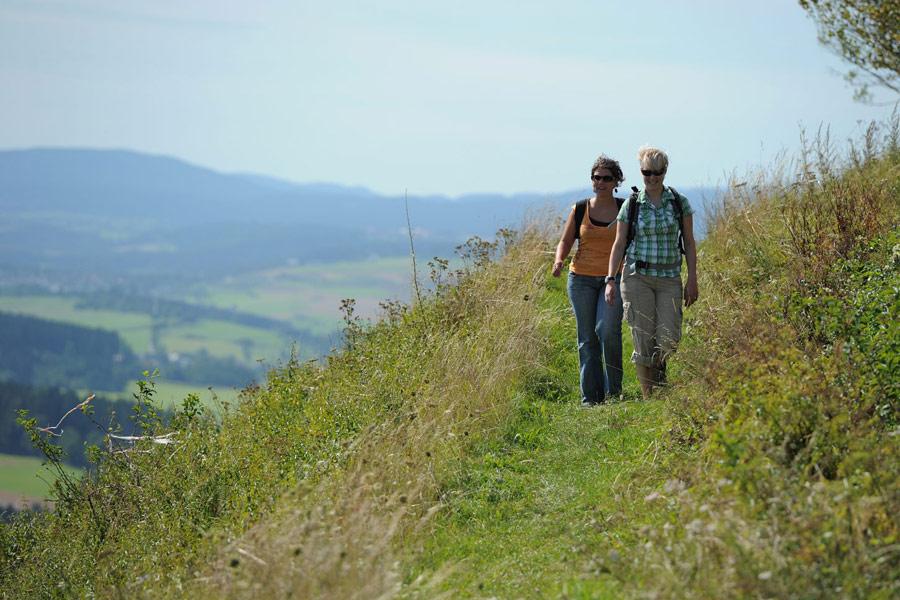 Wandern mit herrlicher Aussicht