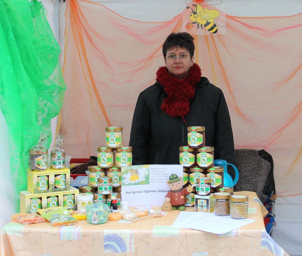 Frau Fritschi, Wochenmarkt