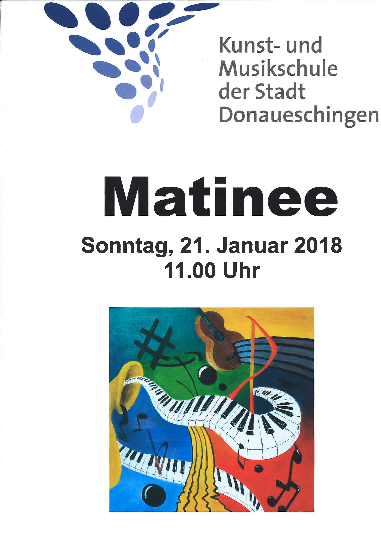 Matinee Musikschule, 21.01.18