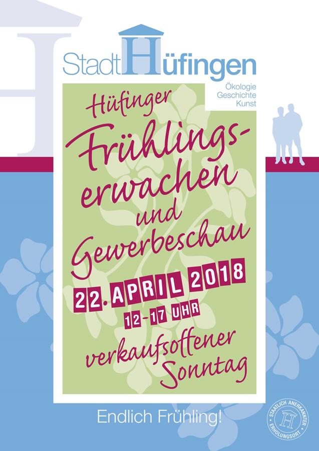Frühlingserwachen in Hüfingen am Sonntag, 22.04.2018