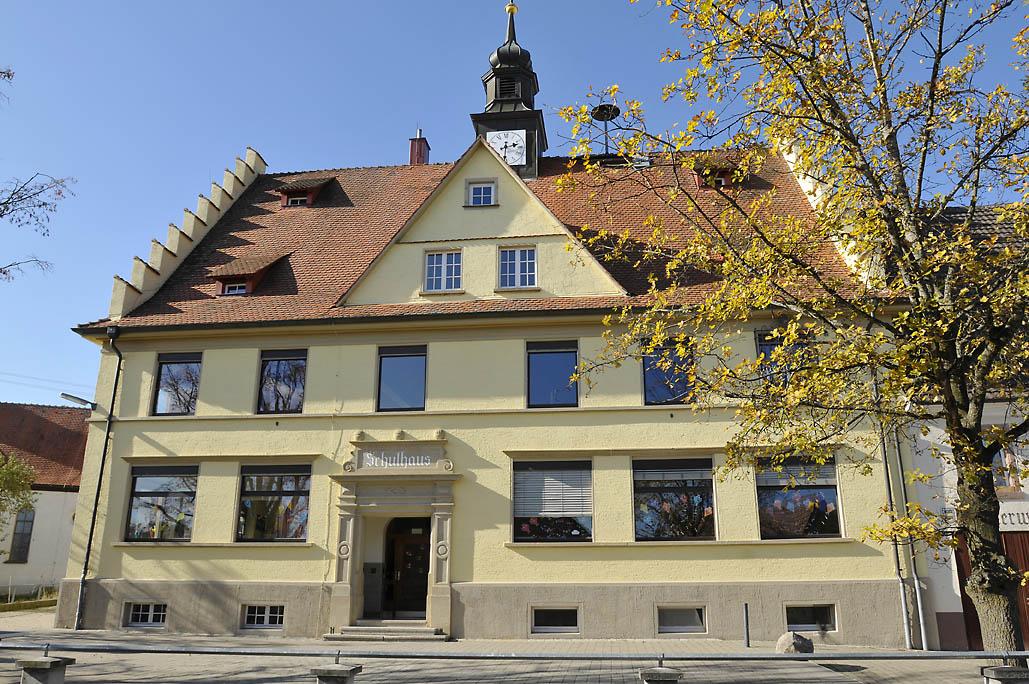 Schellenberger Schule Außenstelle Mundelfingen Außenansicht