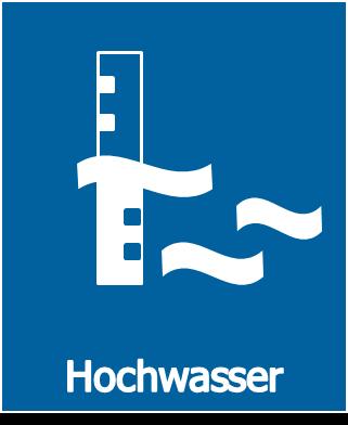 Hochwasser-Button