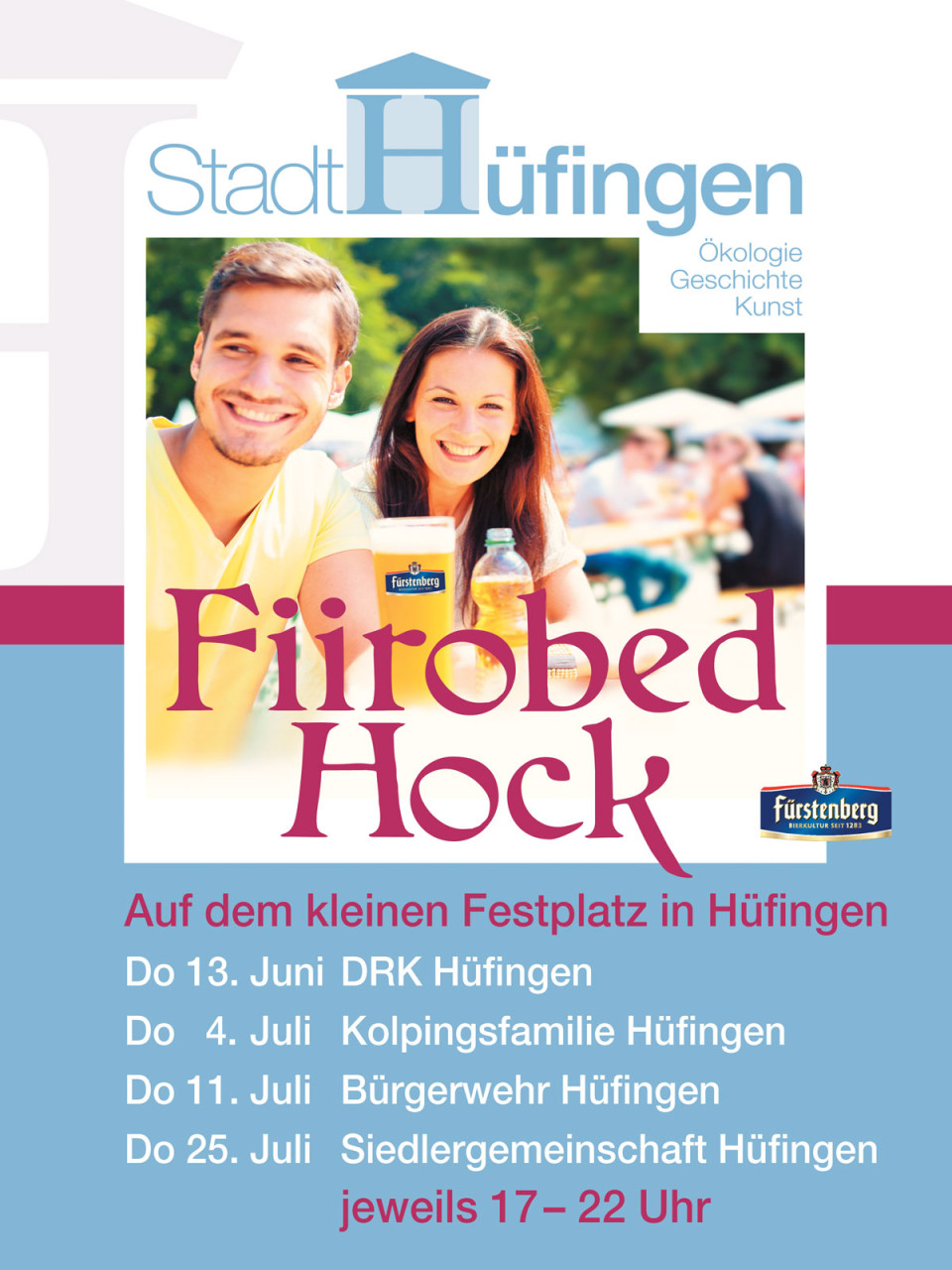 Plakat Feierabendhock