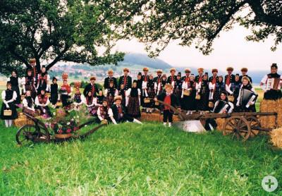 Vereinsbild 1994 Trachtengruppe Fürstenberg e.V.