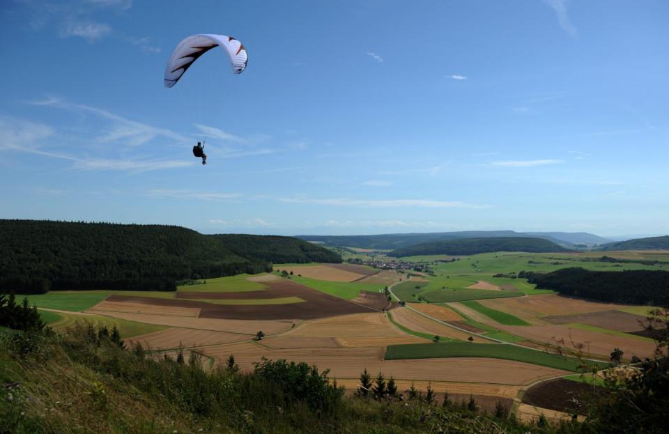 Aussicht vom 918 Meter hohen Fürstenberg