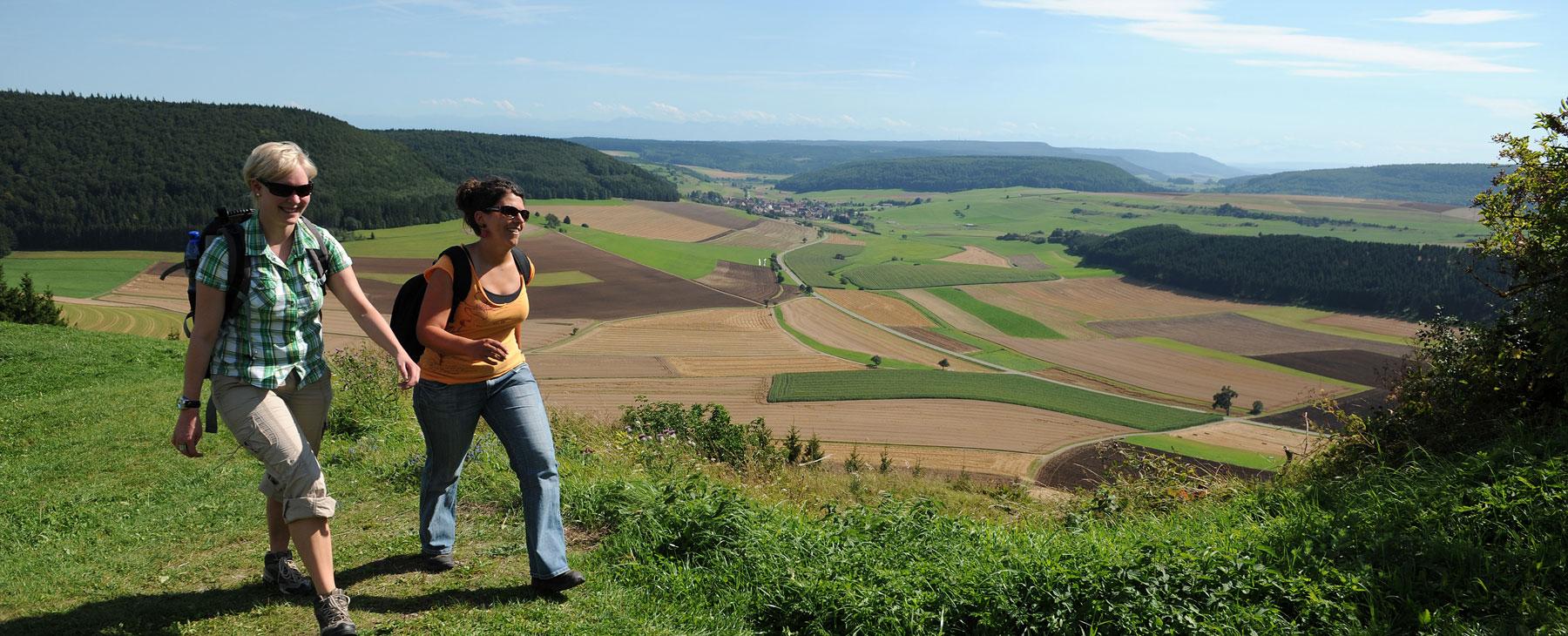 Wandern auf dem Fürstenberg