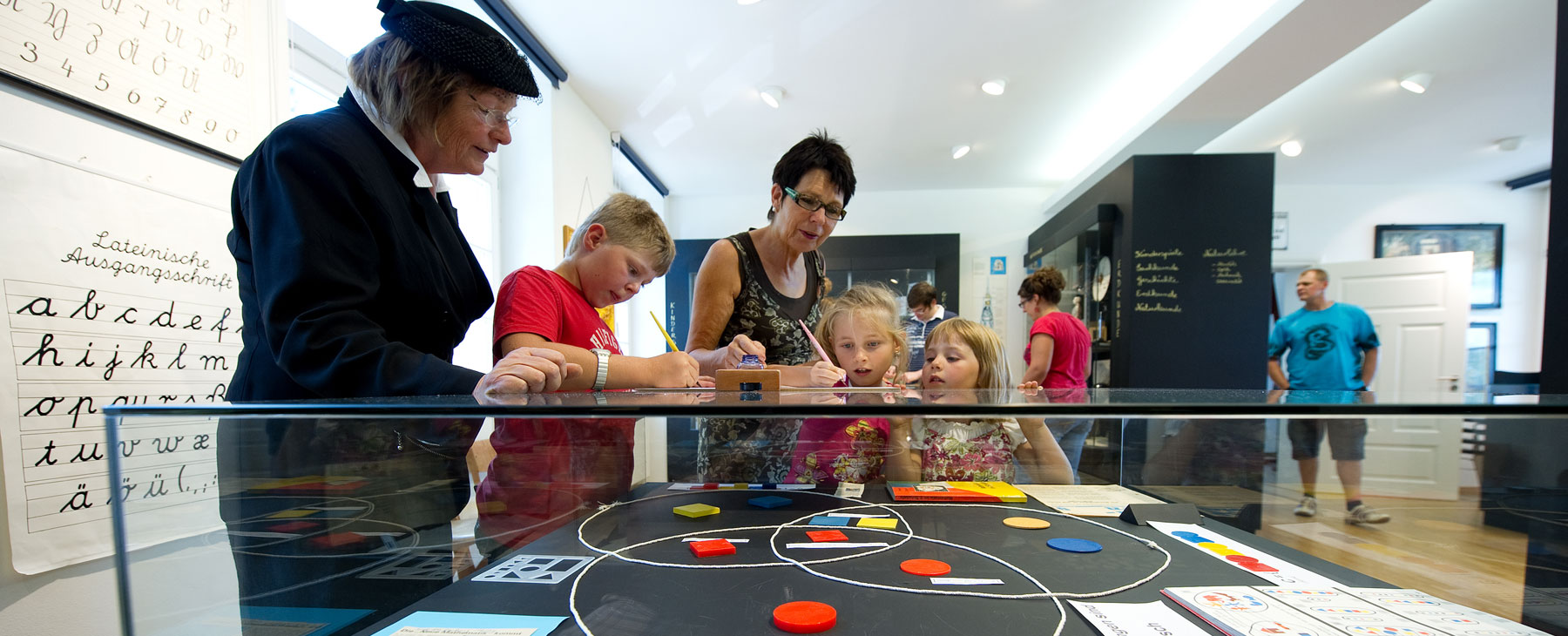 Entdecken Sie das Schulmuseum
