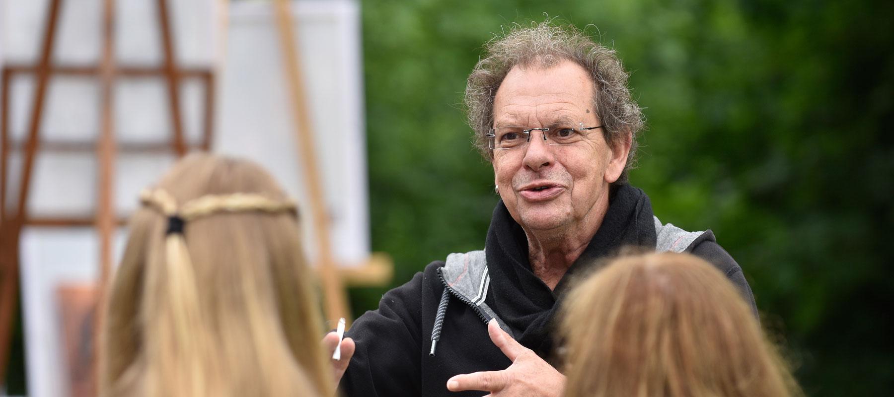 Paul Siemt als Regisseur