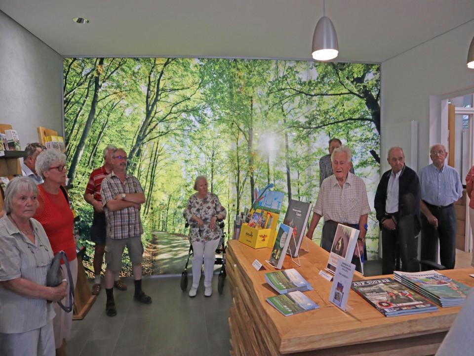 Senioren der Stadt Hüfingen besichtigen die neuen Räumlichkeiten