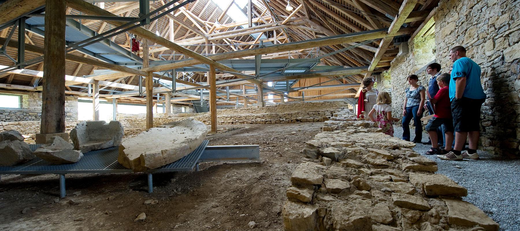 Führung in der Römischen Badruine
