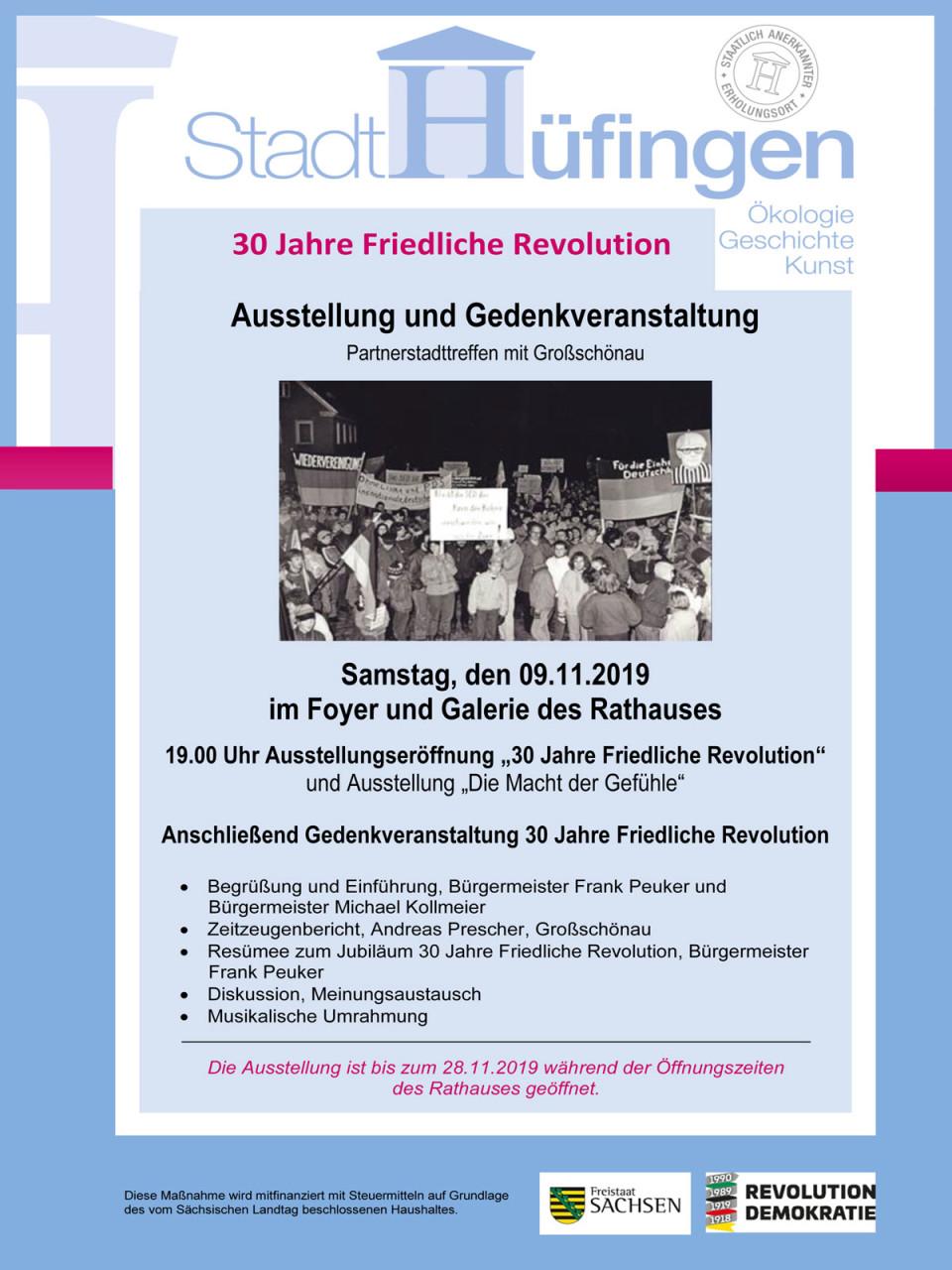 Ausstellung 30 Jahre Friedliche Revolution