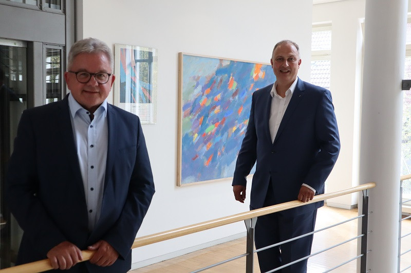 Minister Wolf zu Besuch in Hüfingen