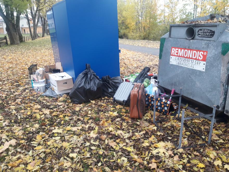 Müllablagerung
