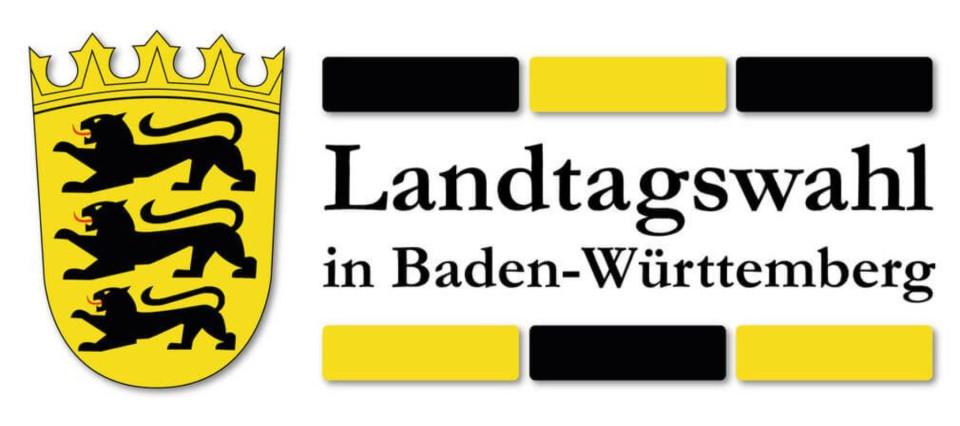 Banner zur Landtagswahl in Baden-Württemberg