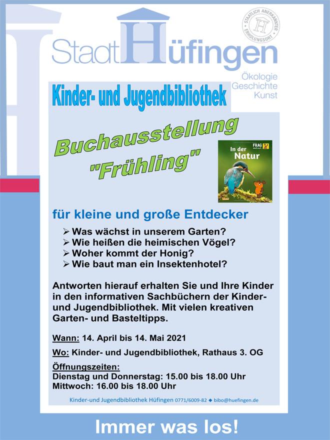 Buchausstellung Frühling