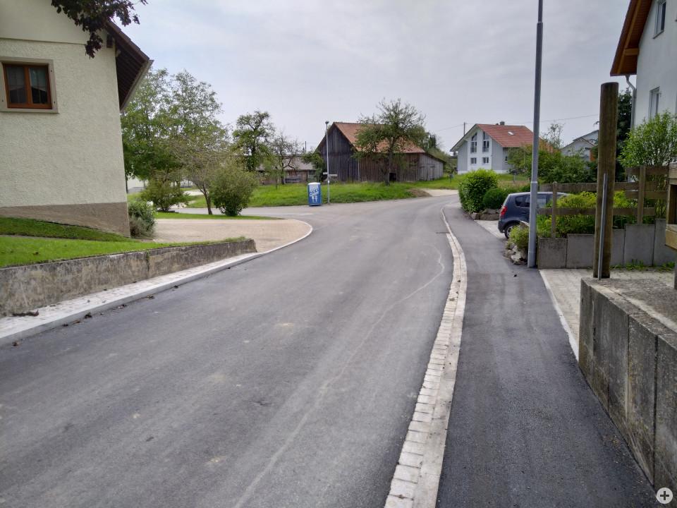 Sanierung der Munolfstraße in Mundelfingen beendet
