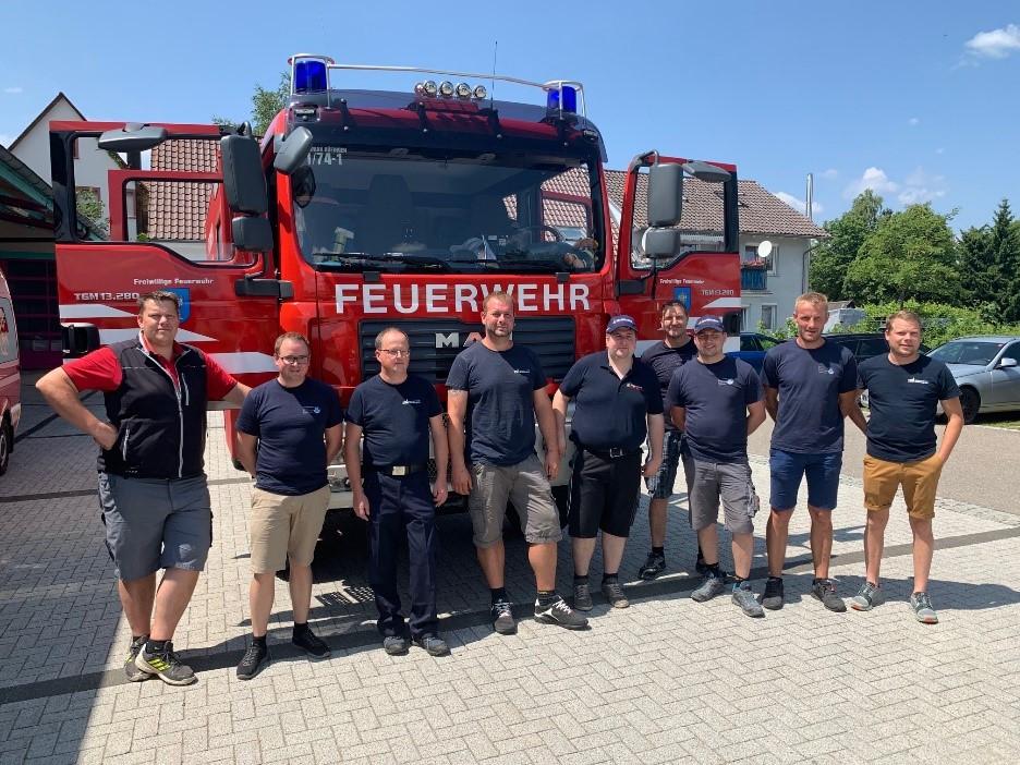 Feuerwehreinsatz Rheinland-Pfalz
