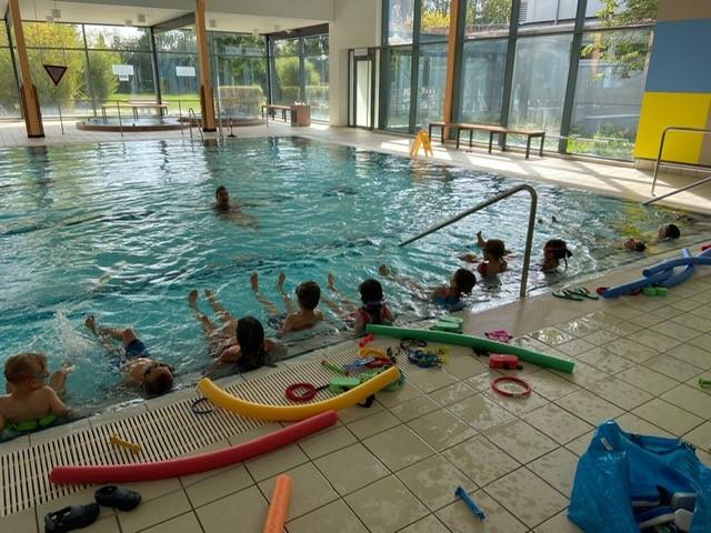 Schwimmkurs im Aquari